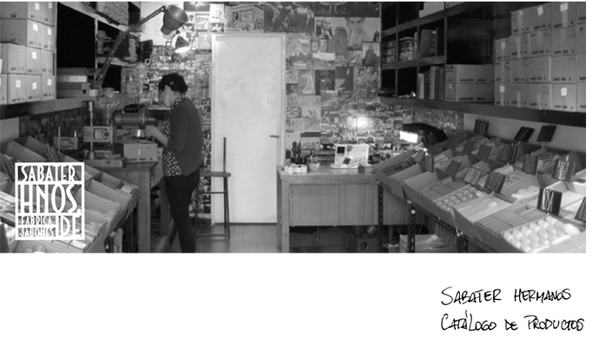 sabater hermanos Hnos jabones Fabrica ilustracion matriz jabon