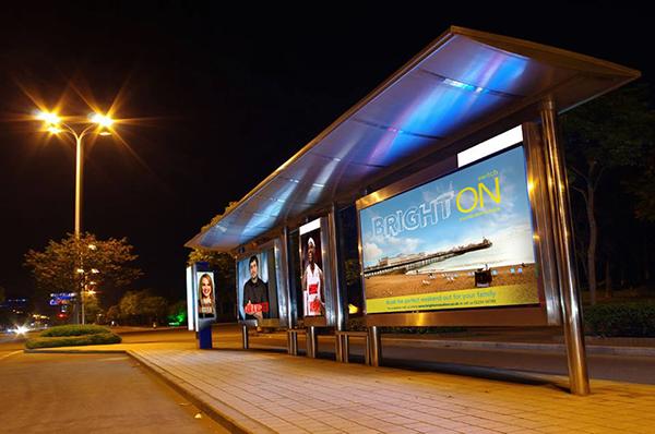 brighton poster Mockup Seaside campaign brochure magazine Travel UK family