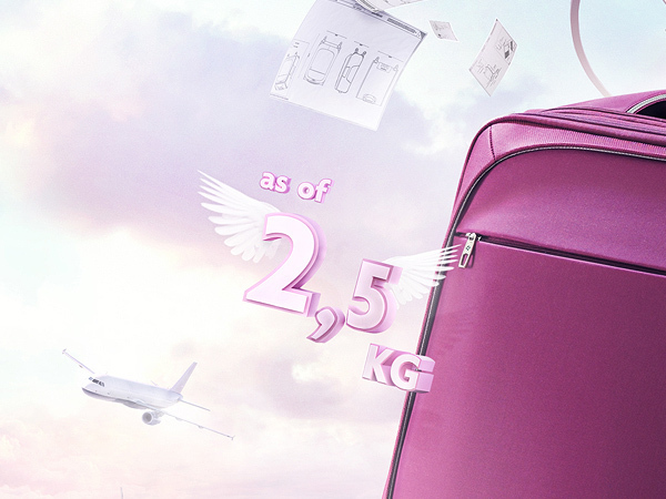 samsonite luggage suitcase ars thanea ars thanea light SKY clouds violet pink train tower material texture