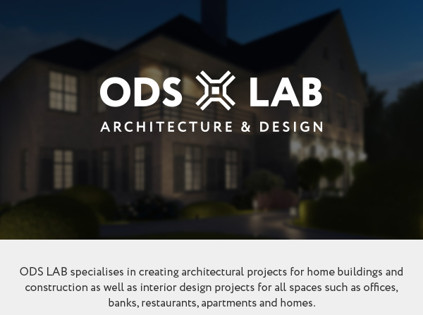 Ods lab u architecture bureau web site on behance