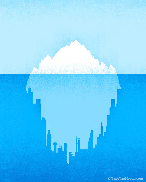 Creative Examples of Negative Space Illustrations