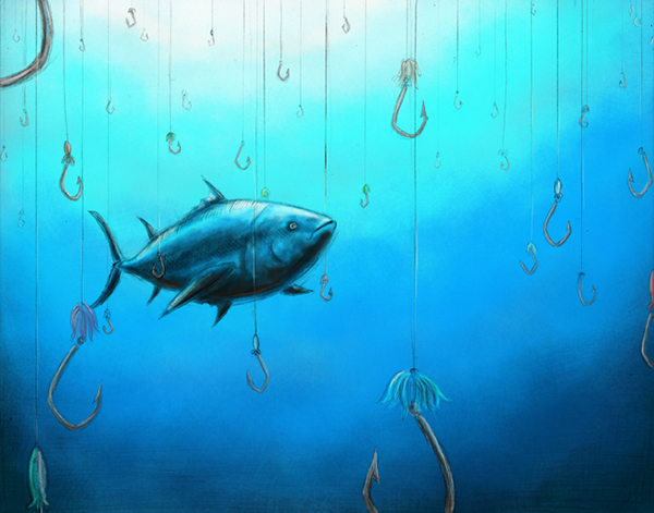 the effect of overfishing on bluefin tuna in marine life essay Once the ban took effect groups documented the italian fleet's use of driftnets to catch bluefin tuna the significant threats to marine life.