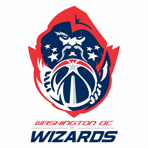 Washington wizards logo concept on behance for Logo creation wizard