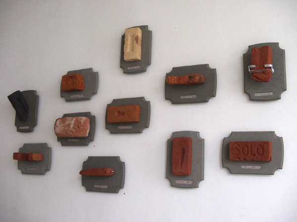 Zagara bricks sculptures dutch concepts Contect related art Dutch design durable Sustainable art figurative abstract Realism contemporary
