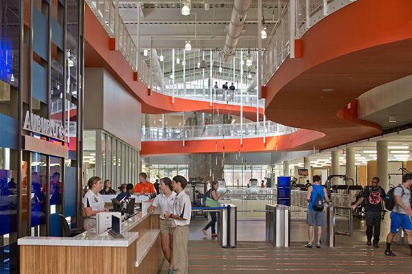 Auburn University Recreation Amp Wellness Center On Behance