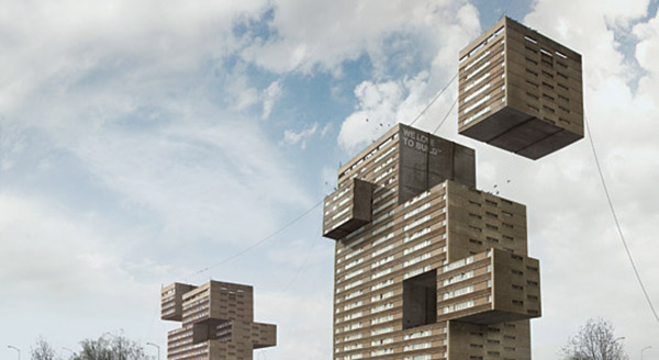 Impossible architecture creative retouching on behance for Architecture impossible
