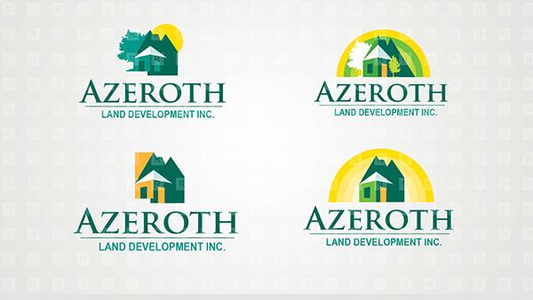 Azeroth Corporate Identity Designs with Logo Studies on ...
