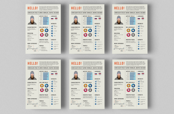 CV,Resume,Curriculum Vitae,infographic,Self Promotion,personal