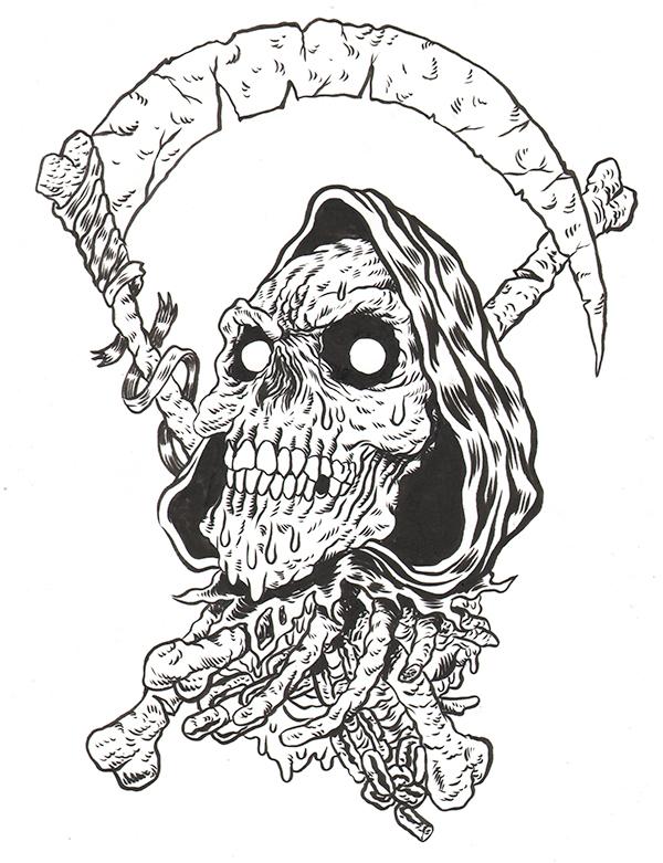 comics metal skull rider WWE