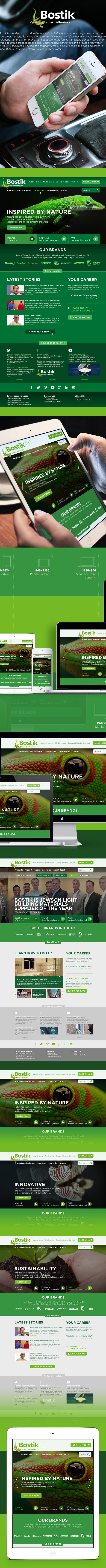 Bostik com Pitch on Behance