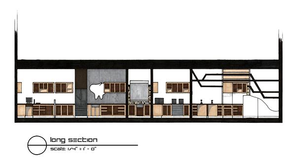 Office Front Elevation Design : Schwenk smith dental office on philau portfolios