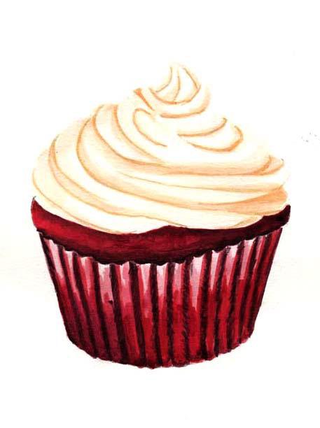Cupcake Illustrations For Bread Amp More Bakery On Behance