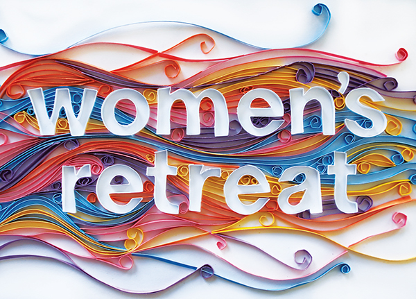 quilling Women's Retreat Miracle Camp