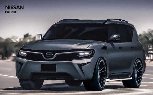 Nissan Patrol 2017 on Behance