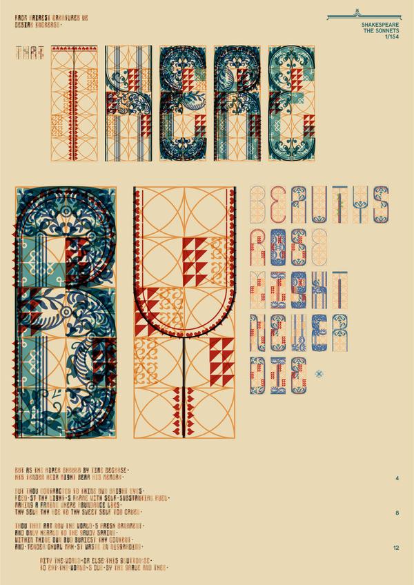 shakespeare typography   Generator