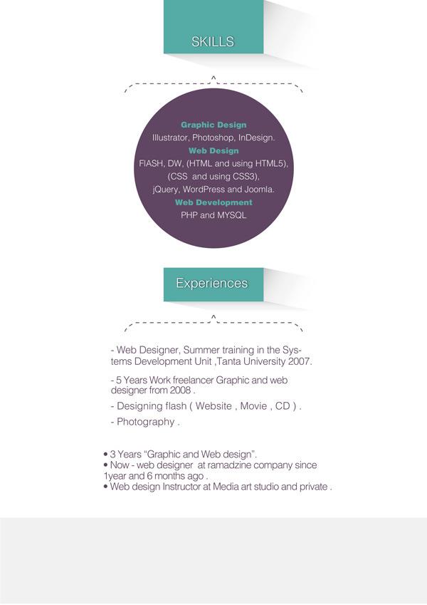 ahmed dawood ui ux and web designer cv on behance