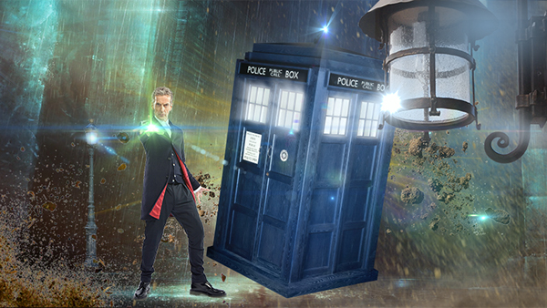 Doctor Who 12th Doctor Tardis 12th Doctor With The Tardis on