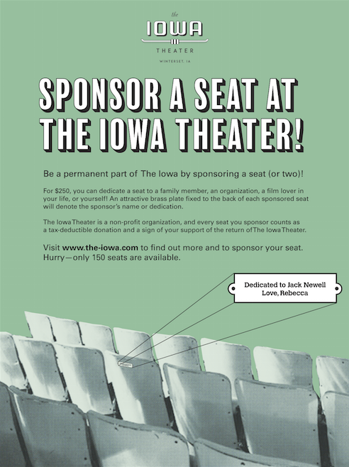 The Iowa Seat Campaign on Behance