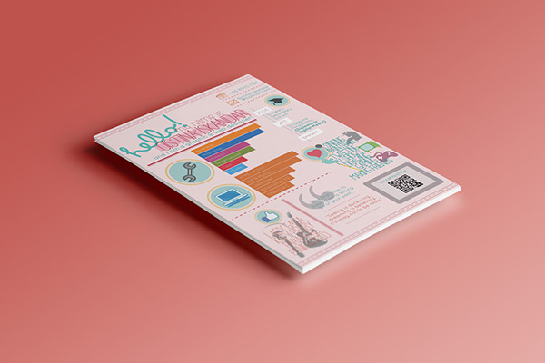infographic curriculum vitae on behance