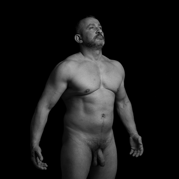 Bw Male Nudes On Behance-6515