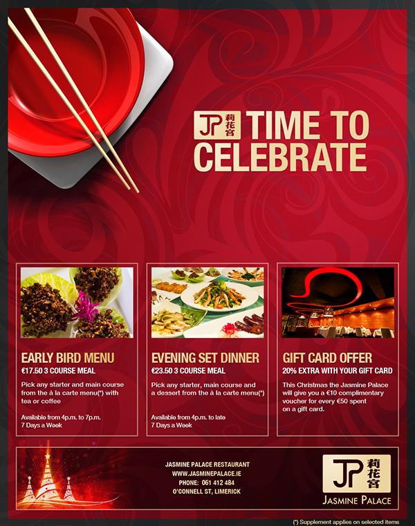print advertisement for chinese restaurant on behance