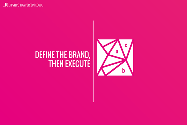 steps to create a perfect logo