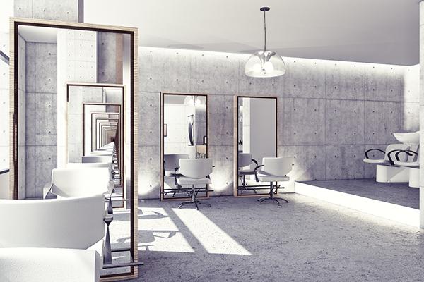 Beauty salon concept udine on behance - Interior design udine ...