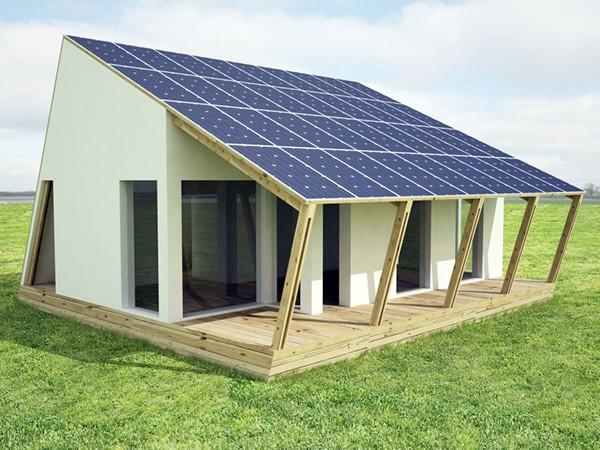 Solar decathlon on behance for Solar panel house plans