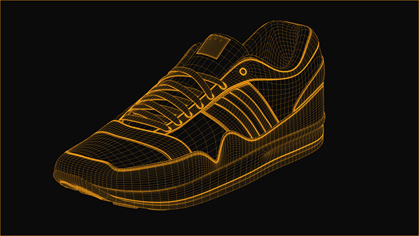 SPORTS SHOE 3D MODELING on Student Show