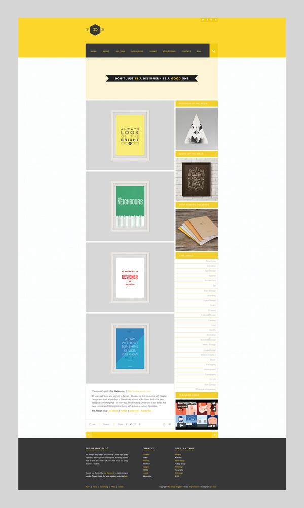 The Design Blog on Behance