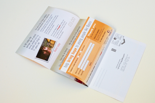 Fundraising Mail Campaign On Behance