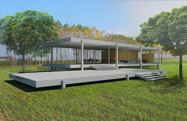 3ds Max House Rendering Revit Rendered in 3ds Max
