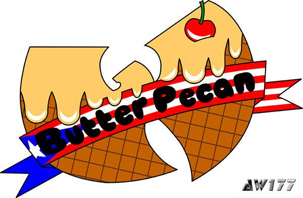 AW177 Wu-Tang Clan ice cream ghostface killah french vanilla butter pecan  chocolate deluxe caramel sundae asian persuasion