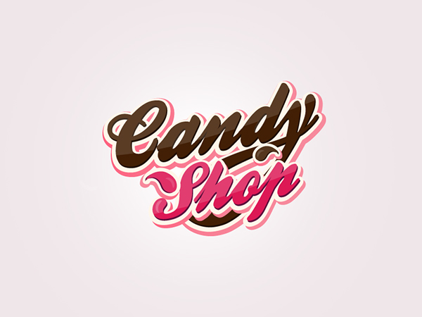 candy shop on behance
