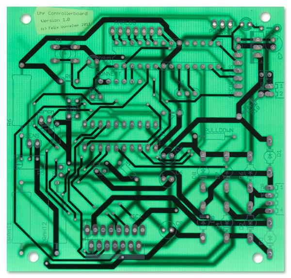 clock Uhr Arduino Electronics mechanics stepper motor scriptographer
