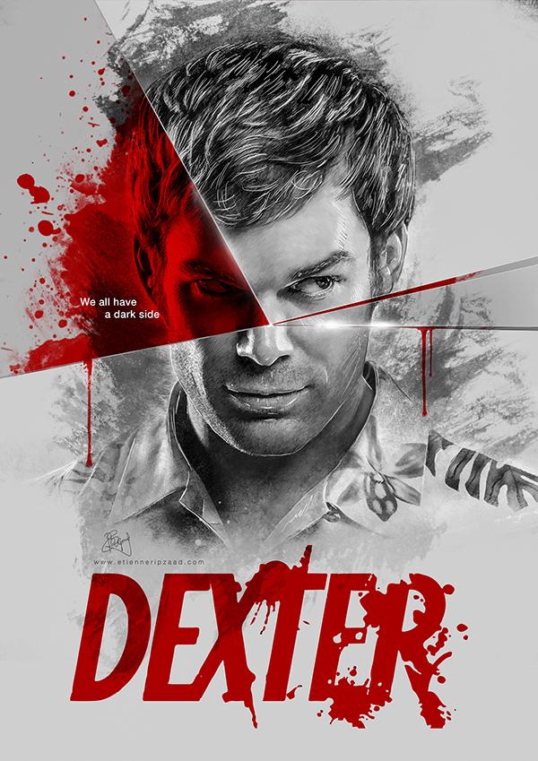 dexter we all have a dark side on behance