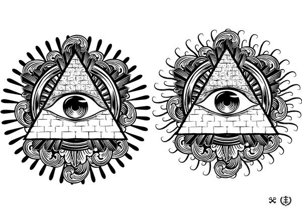 All Seeing Eye On Behance
