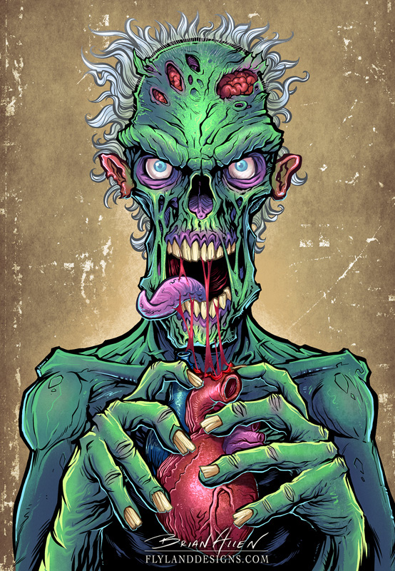 Zombie Snack Decal For Lethal Threat On Behance