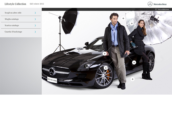 Mercedes benz lifestyle collection 2012 on behance for Mercedes benz lifestyle accessories