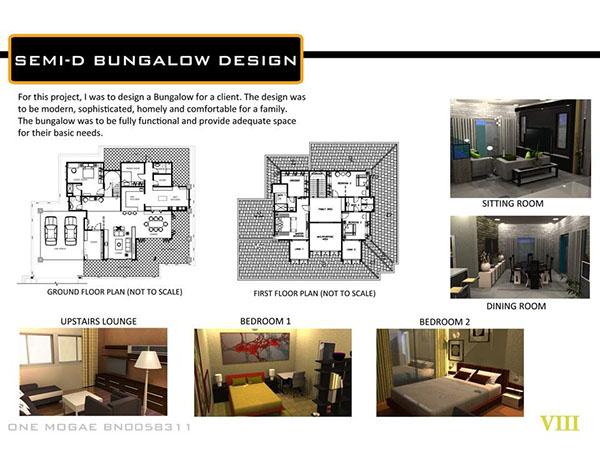 Interior Design Portfolio Sample One Mogae On Behance