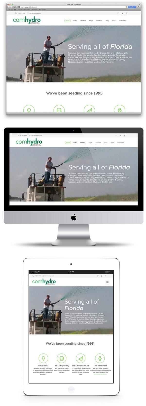 Web wordpress commercial florida Website