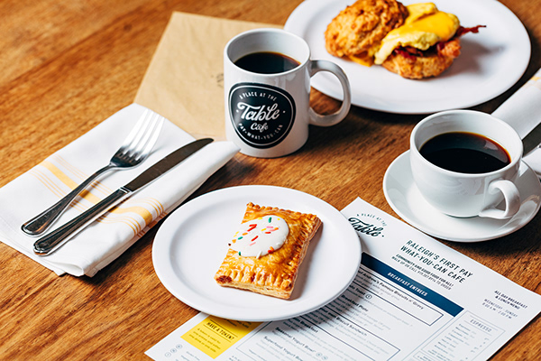 A Place at the Table | Cafe Branding