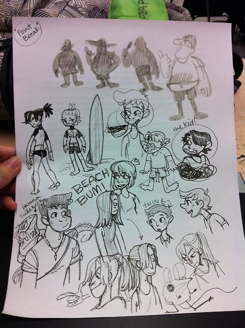 Character Design Tropes : Character tropes beachbumz on mica portfolios