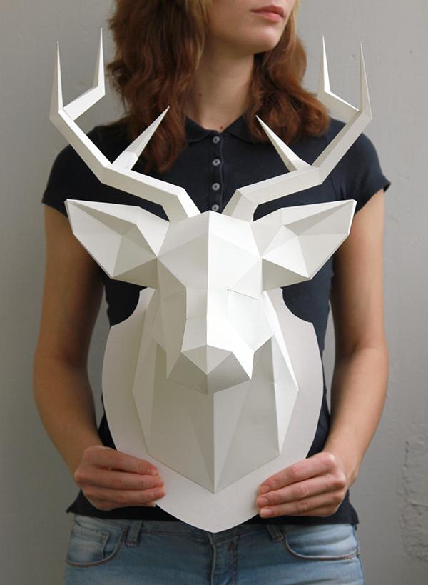 My dear deer - Paper craft