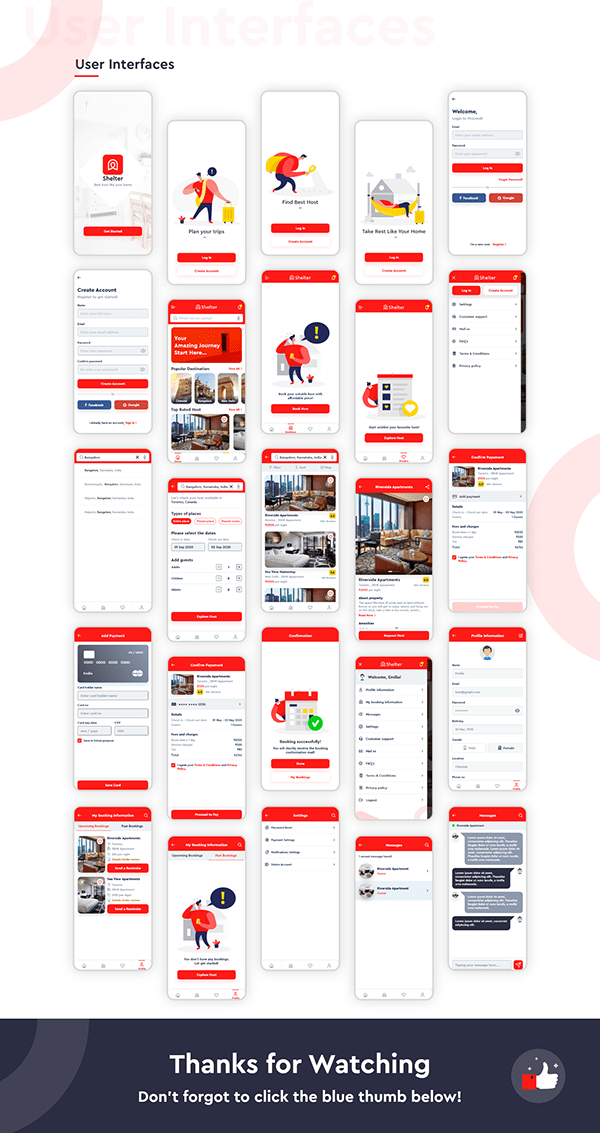 Shelter - Booking App