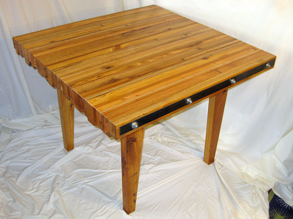 Scrap Table Discarded Pallet Wood