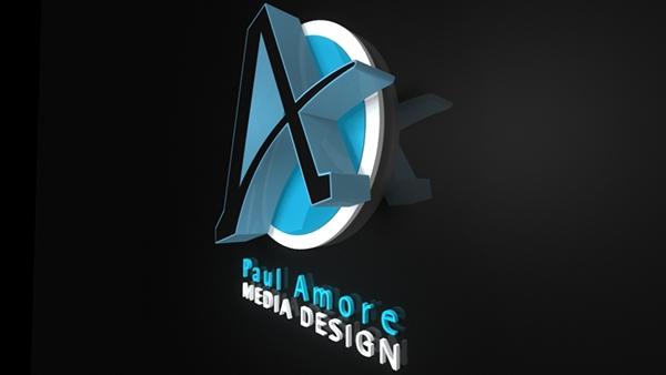 My 3D Logo (Maya) on Pantone Canvas Gallery