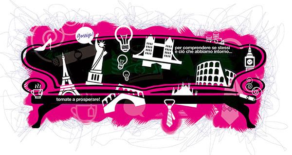 illustrazione Lusso Style web magazine Francesco Mazzenga