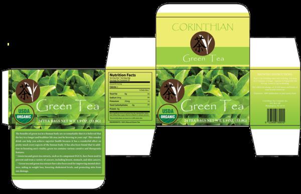 Package Design: Box of Tea on Behance