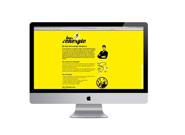 ontwerp logo Website TOUR D'ÉNERGIE